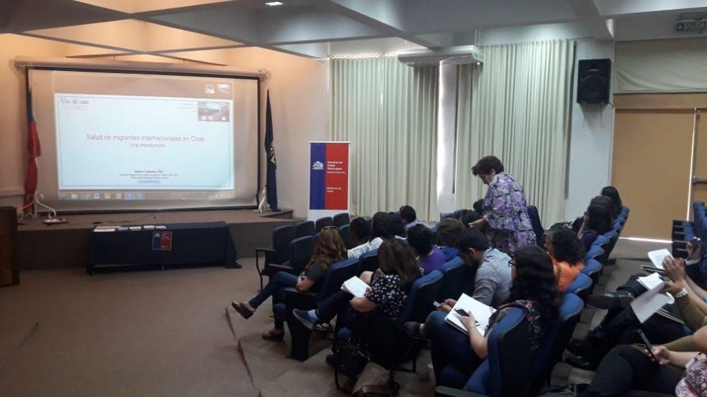 Seminario Migración y Salud - Universidad de Valparaíso y Servicio de Salud Valparaíso 30-11-2018