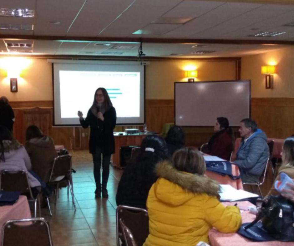 Investigadoras de PROESSA participan en curso de migración y trata de personas.