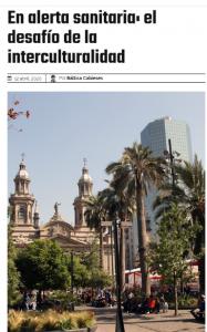 Publicación de columna en Chile Científico