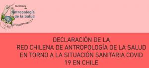 Investigadoras de PROESSA participan en declaración de red chilena de Antropología de la Salud sobre la situación sanitaria de COVID-19