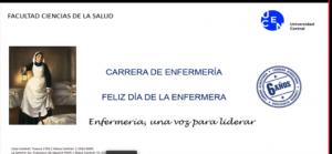 """Exposición de directora de PROESSA en seminario """"IV Jornada Cientifico Cultural de Investigación en Enfermería"""" en Universidad Central"""