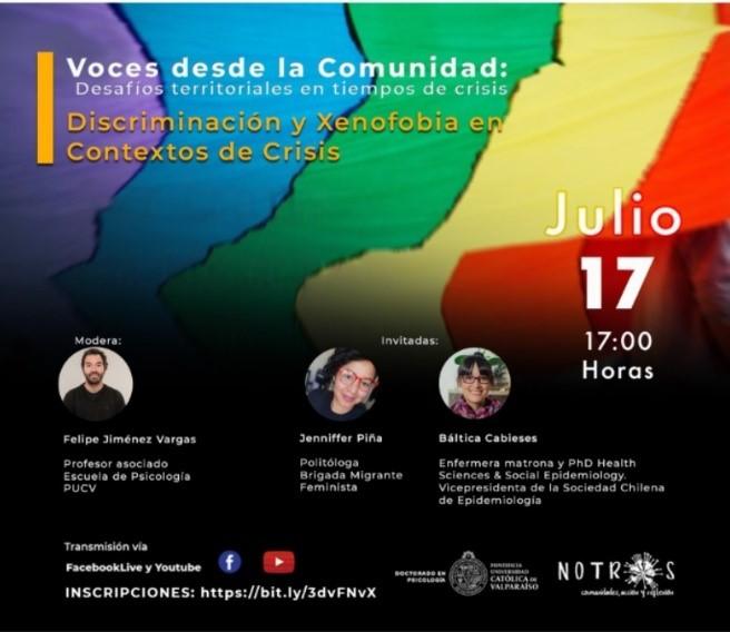 Participación investigadora PROESSA en Conversatorio Doctorado en Psicología PUCV