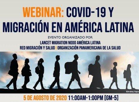 Participación de investigadora PROESSA en conversatorio Lancet Migration