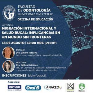 Exposición de investigadora PROESSA en Webinar Universidad Finis Terrae