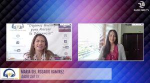 Participación de investigadora PROESSA en programa radial
