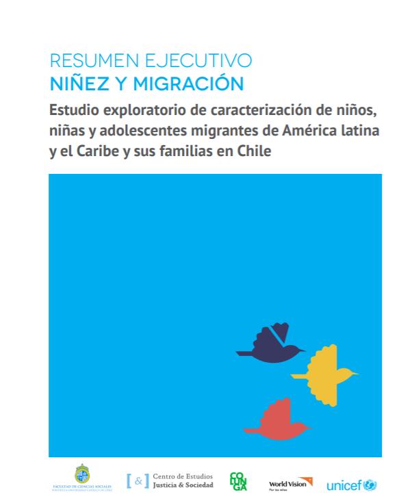 Directora de PROESSA UDD participó como asesora en estudio sobre niñez y migración en Chile