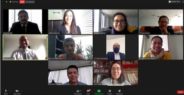 Realización de seminario sobre la respuesta sanitaria institucional de países andinos a la migración venezolana