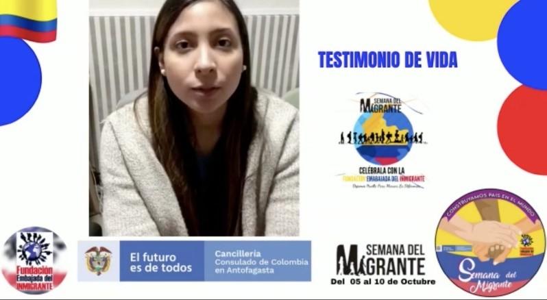 Participación de investigadora PROESSA en conmemoración semana del migrante
