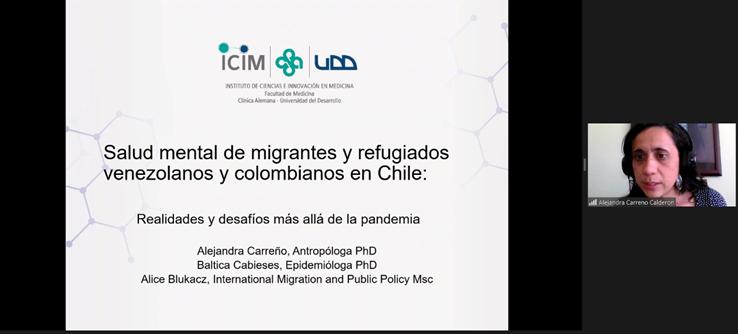 Participación investigadora PROESSA en Seminario Internacional ¿Es la migración una determinante social de la salud mental?