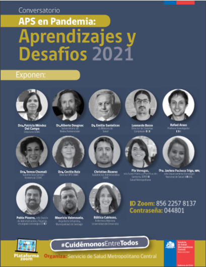 Participación Investigadora PROESSA en Conversatorio de Servicio de Salud Metropolitano Central