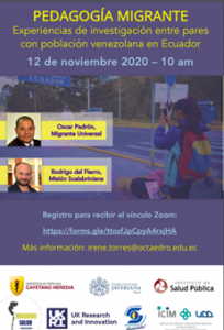 Conversatorio pedagogía migrante