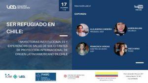 """Realización de Seminario """"Ser refugiado en Chile"""" organizado por PROESSA-UDD."""