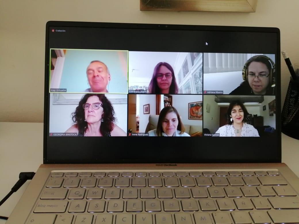 Participación investigadoras PROESSA en versión IX Congreso ALAP 2020