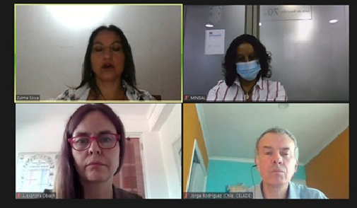 """Participación de profesora Alexandra Obach en webinar """"Descenso de la fecundidad adolescente en Chile"""", organizado por Hospital Digital – MINSAL"""