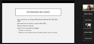 Realizan conversatorio organizado por PROESSA en el marco de conversatorios Migración Andina y Salud: La experiencia de Chile