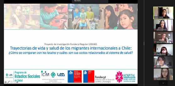 Inicio entrenamiento para encuestadores Fondecyt migrantes internacionales