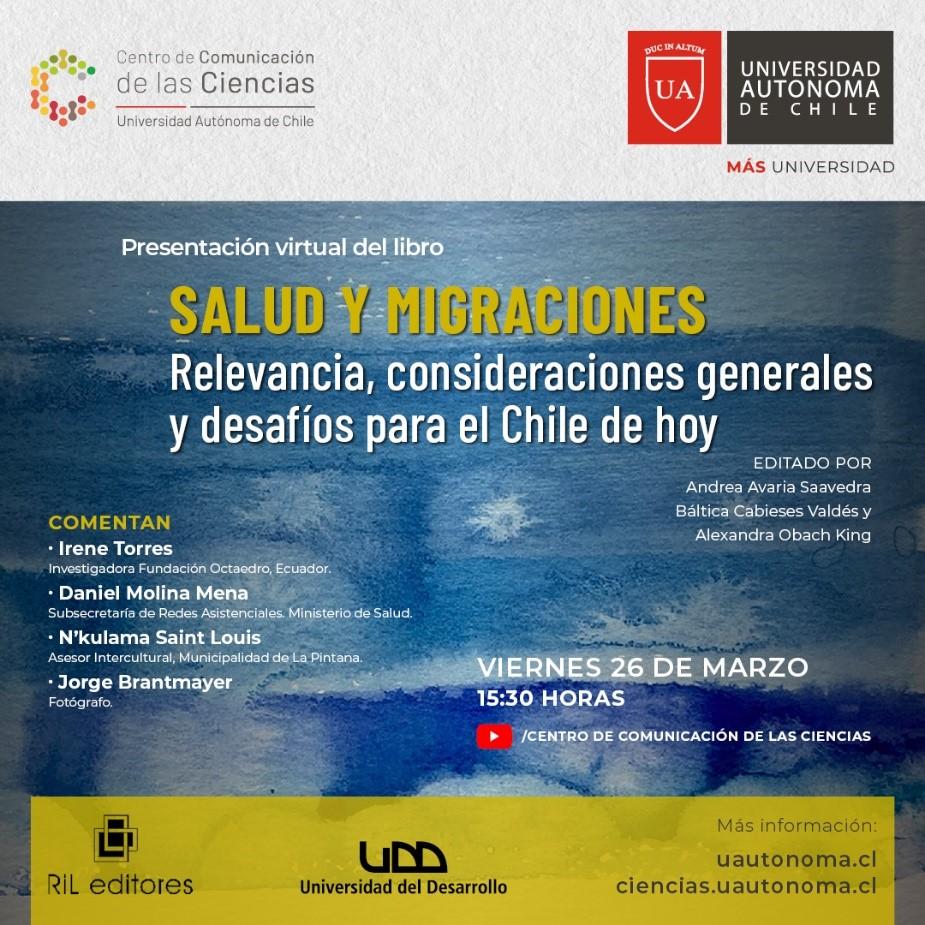 Lanzamiento de libro sobre Salud y migración internacional con participación investigadoras PROESSA