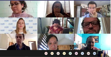 Participación de directora PROESSA en reunión de diseño Diplomado en Salud Mental y migración internacional