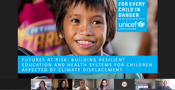 Participación de investigadora PROESSA en taller de UNICEF migrant children