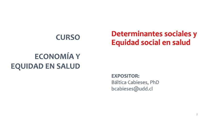 """Participación de directora de PROESSA en curso """"Economía y Equidad en Salud"""" para profesionales de salud de Bolivia"""