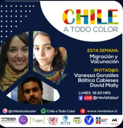 "Participación directora de PROESSA en ""Podcast Chile a todo color"""