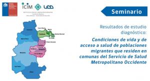 Se socializan resultados de estudio de Servicio de salud Occidente sobre el acceso a salud población migrante de la Red desarrollado en colaboración con PROESSA