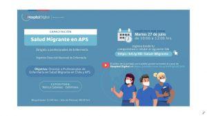 Directora de PROESSA realiza capacitación sobre atención de salud a migrantes internacionales