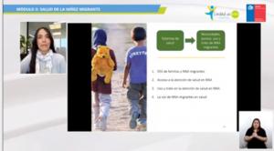 Participación de investigadoras PROESSA UDD en Seminario sobre inclusión de niñez migrante