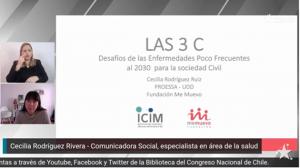 Participación investigadora PROESSA en Webinar sobre desafíos de enfermedades poco frecuentes.