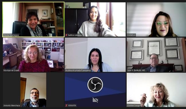 Participación de directora PROESSA en curso de actualización SONEPSYN sobre salud mental de mujeres