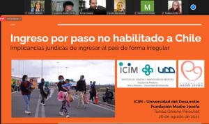 Charla asesoría jurídica en regularización migratoria organizada por Fundación Madre Josefa en Colaboración con PROESSA